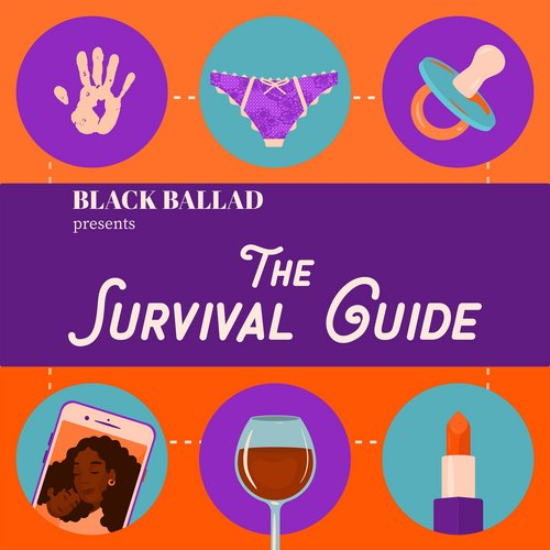 Illustrated artwork for Black Ballad presents The Survival Guide